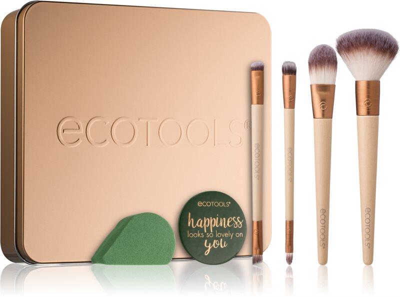EcoTools Warm Winter Glow набір щіточок для макіяжу