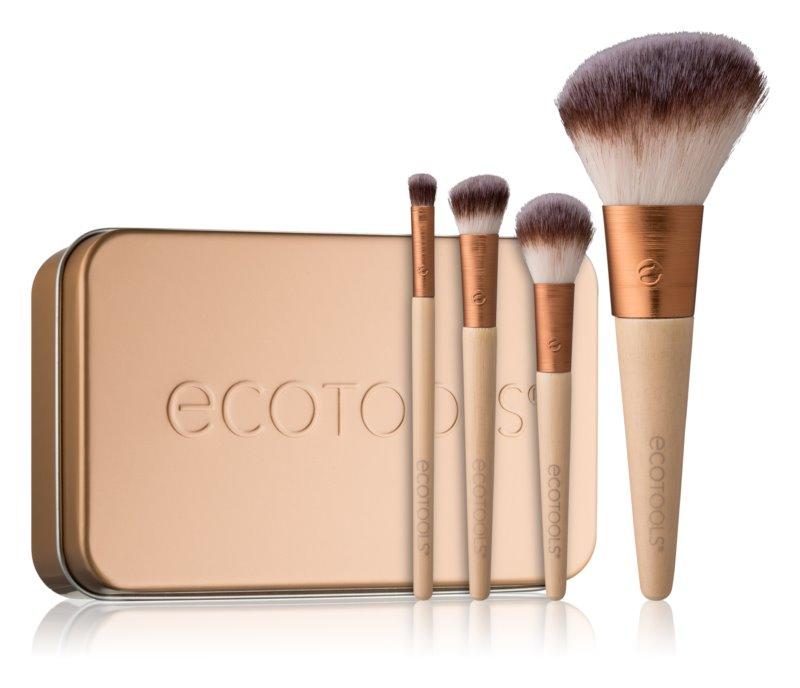EcoTools Winter Wonder набір щіточок для макіяжу у подорож