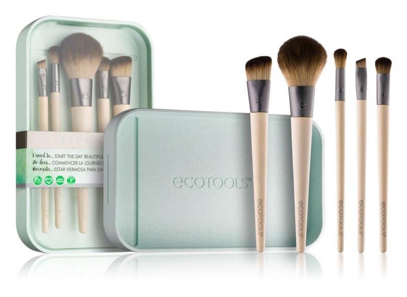 EcoTools Start The Day Beautifully набір щіточок для макіяжу