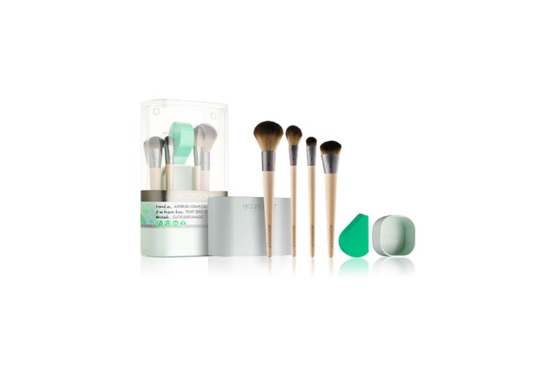EcoTools Airbrush Complexion Brush Set (for Face)