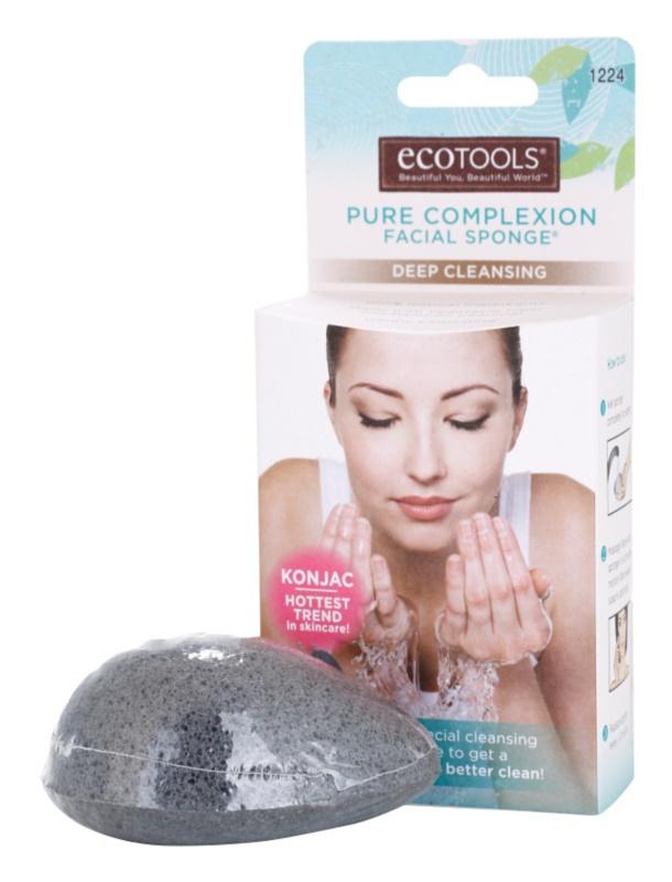 EcoTools Pure Complexion konjaková houbička pro hloubkové čištění pleti