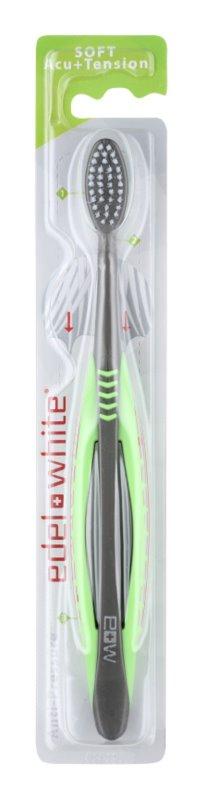 Edel+White Acu+Tension escova de dentes soft