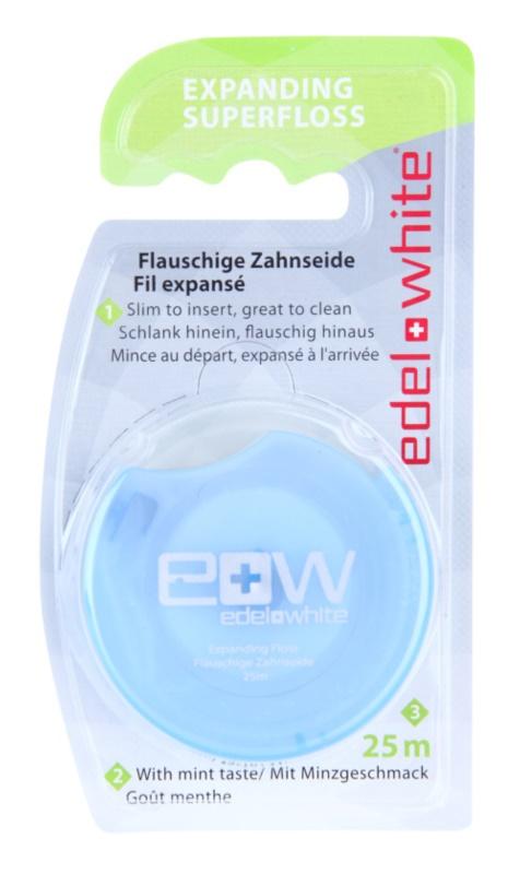 Edel+White Expanding Superfloss dentální nit