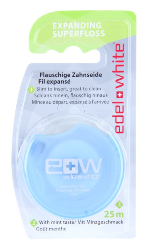 Edel+White Expanding Superfloss hilo dental