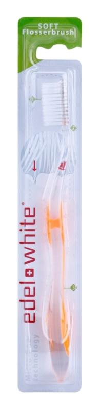 Edel+White Flosser Brush brosse à dents soft