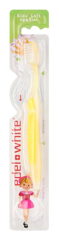 Edel+White Kids zubná kefka pre deti soft