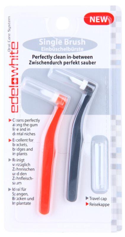 Edel+White Single Brush brossettes interdentaires 2 pcs
