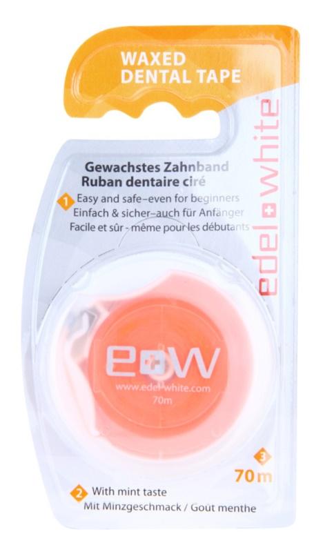 Edel+White Waxed Dental Tape fita dental