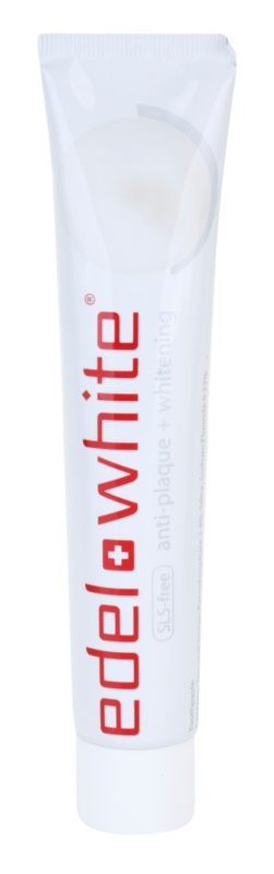 Edel+White Whitening dentifrice blanchissant anti-plaque