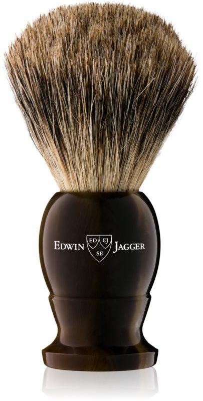 Edwin Jagger Best Badger Light Horn štětka na holení