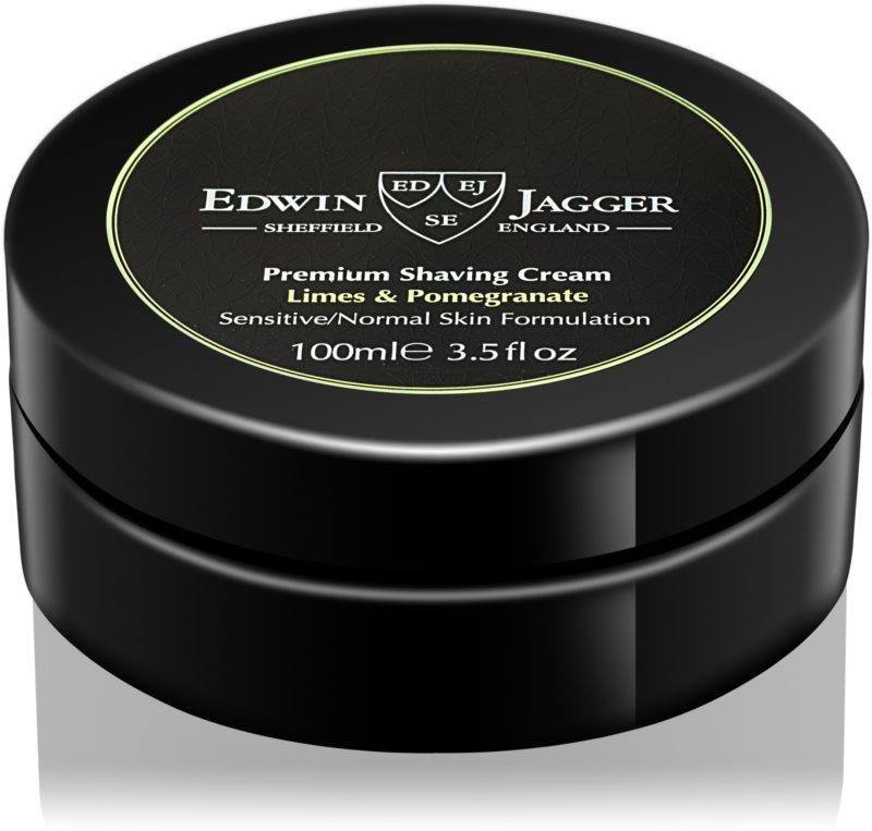Edwin Jagger EDWIN JAGGER Limes & Pomegranate krém na holenie pre zmiešanú pleť