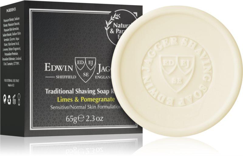 Edwin Jagger EDWIN JAGGER Limes & Pomegranate savon de rasage recharge