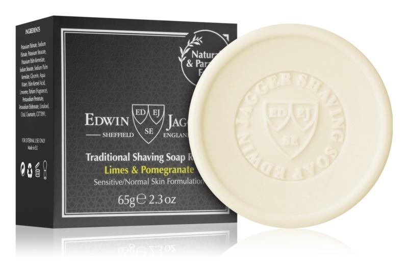 Edwin Jagger Limes & Pomegranate mýdlo na holení náhradní náplň