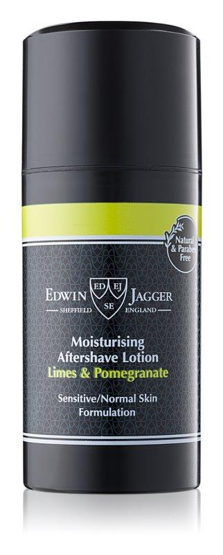 Edwin Jagger Limes & Pomegranate balzám po holení pro smíšenou pleť