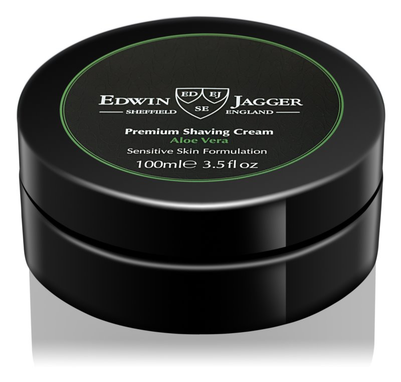 Edwin Jagger EDWIN JAGGER Aloe Vera krém na holenie pre citlivú pleť