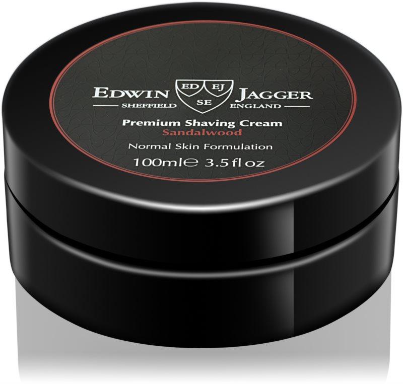 Edwin Jagger EDWIN JAGGER Sandalwood krém na holení pro normální pleť