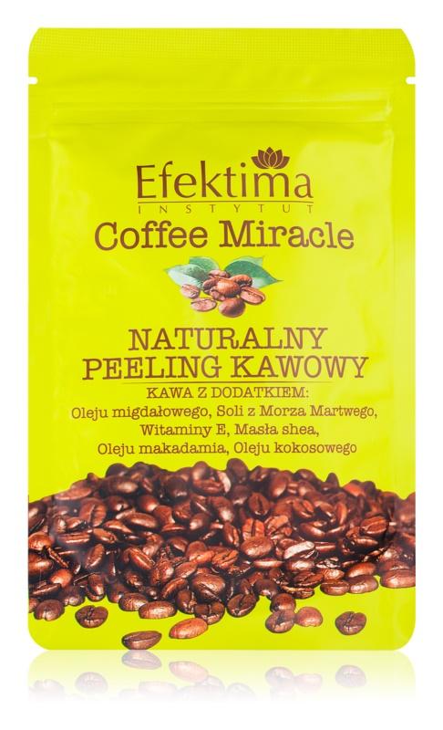 Efektima Institut Coffee Miracle peeling pentru piele neteda si delicata