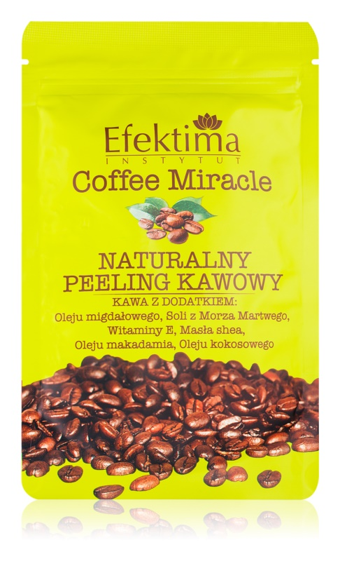 Efektima Institut Coffee Miracle peeling pre jemnú a hladkú pokožku