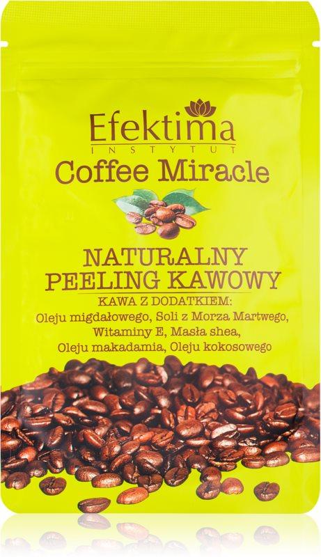 Efektima Institut Coffee Miracle peeling pro jemnou a hladkou pokožku