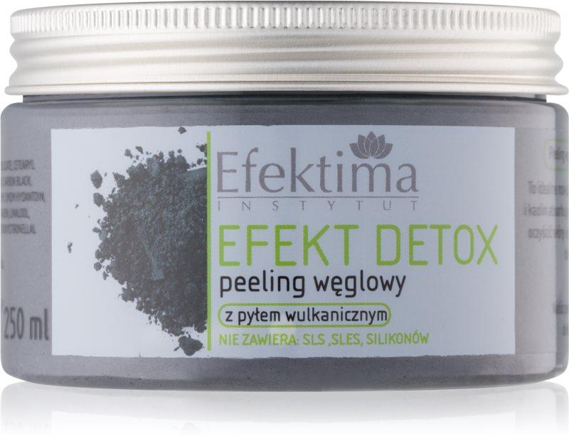 Efektima Institut Efekt Detox piling za telo z aktivnim ogljem