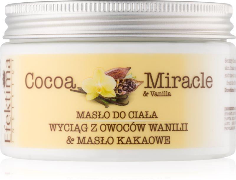 Efektima Institut Cocoa Miracle maslo za telo