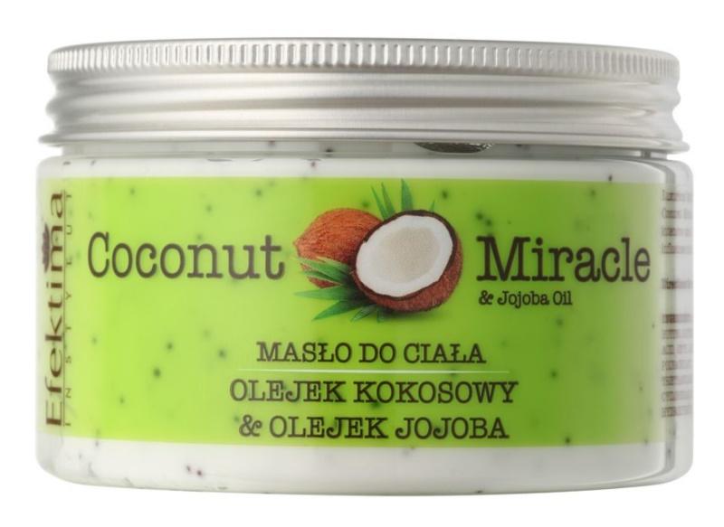 Efektima Institut Coconut Miracle manteca corporal con efecto humectante