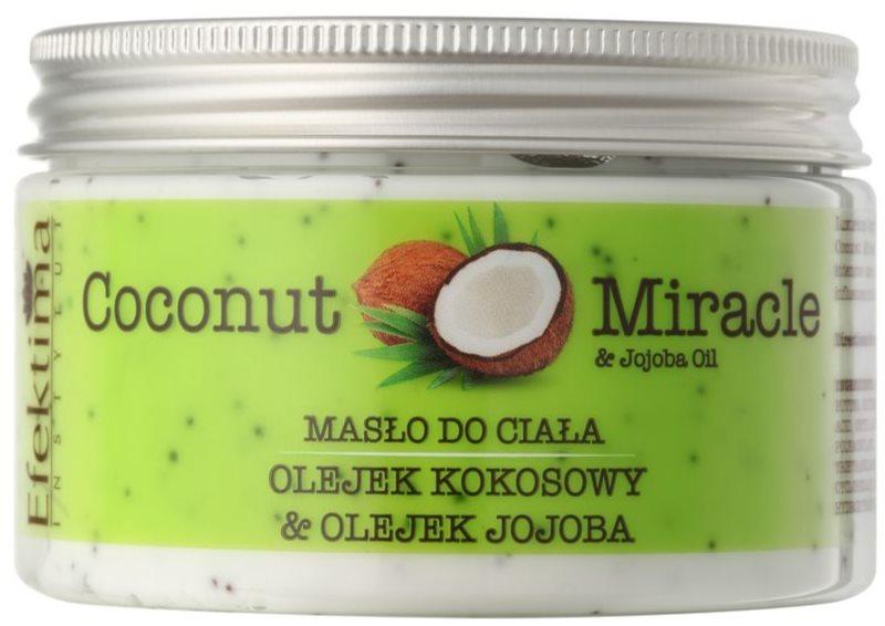 Efektima Institut Coconut Miracle testvaj hidratáló hatással
