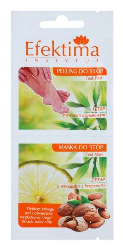 Efektima Institut peeling és maszk lábakra