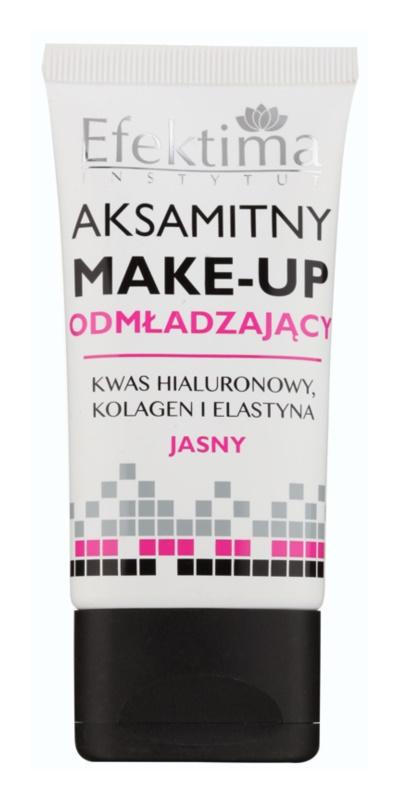 Efektima Institut folyékony make-up fiatalító hatással