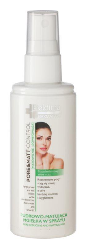 Efektima PharmaCare Pore&Matt-Control brume matifiante visage pour réduire les pores