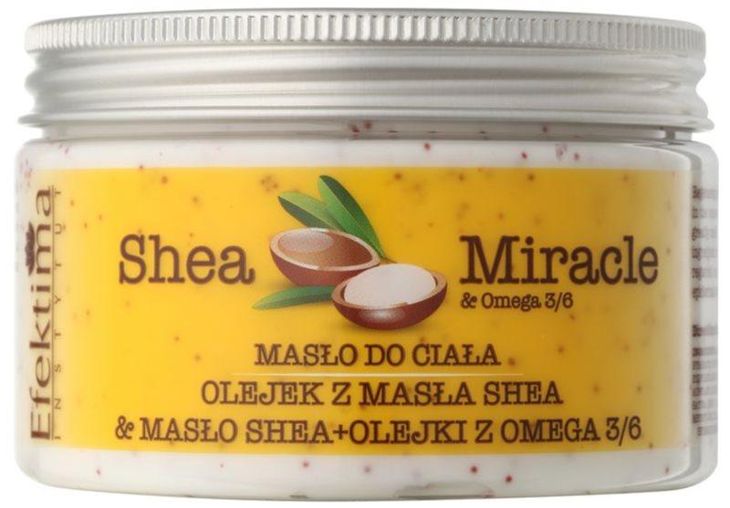 Efektima Institut Shea Miracle regeneračné telové maslo