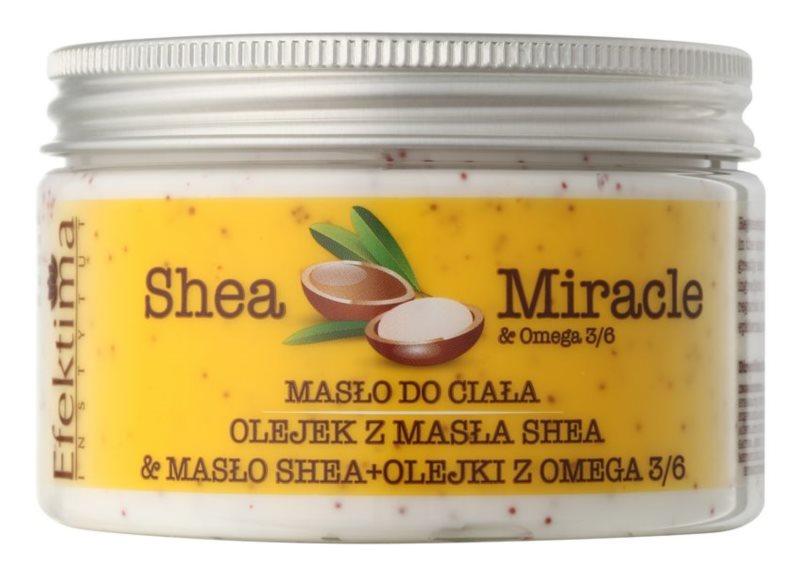 Efektima Institut Shea Miracle regenerační tělové máslo