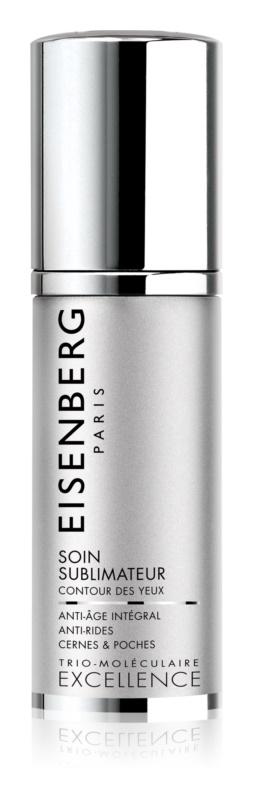 Eisenberg Excellence gelasta krema za predel okoli oči proti gubam, zabuhlosti in temnim kolobarjem