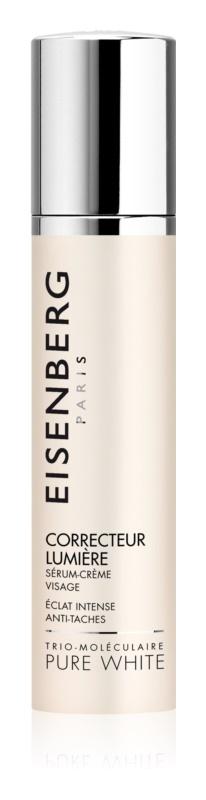 Eisenberg Pure White posvetlitveni serum za obraz proti pigmentnim madežem