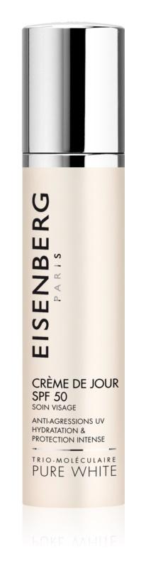 Eisenberg Pure White krem nawilżająco-ochronny na dzień SPF 50+