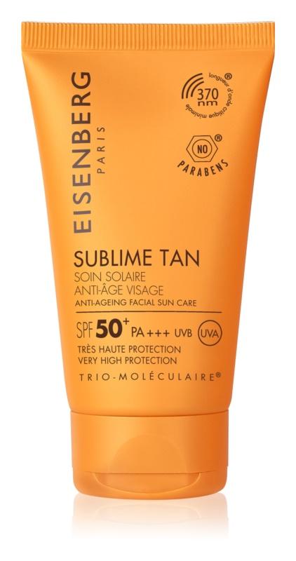 Eisenberg Sublime Tan Bräunungscreme für das Gesicht mit Anti-Falten-Effekt SPF 50+