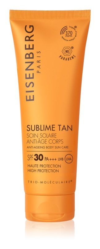 Eisenberg Sublime Tan crème solaire corps anti-rides SPF 30