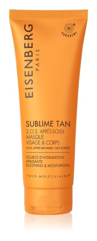 Eisenberg Sublime Tan pomirjevalna in vlažilna maska po sončenju