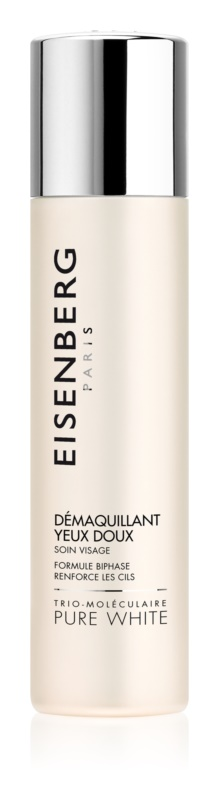 Eisenberg Pure White dvofazni odstranjevalec ličil za okoli oči