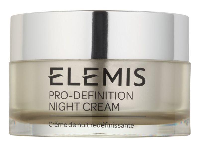 Elemis Anti-Ageing Pro-Definition éjszakai liftinges és bőrfeszesítő krém érett bőrre