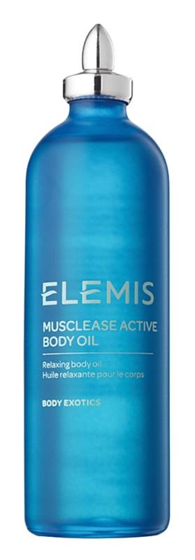 Elemis Body Performance relaxációs olaj a testre