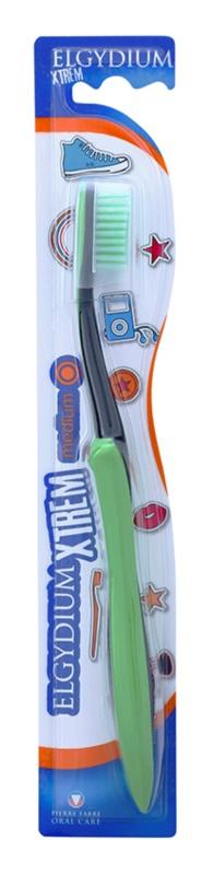 Elgydium XTrem zubní kartáček medium