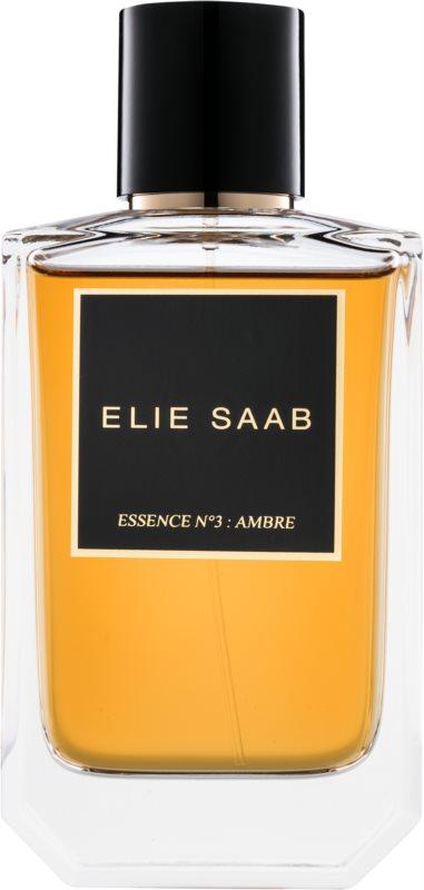 Elie Saab Essence N°3 : Ambre Eau de Parfum unisex 100 ml