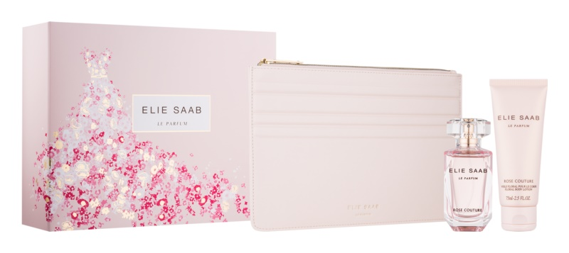 Elie Saab Le Parfum Rose Couture dárková sada II.
