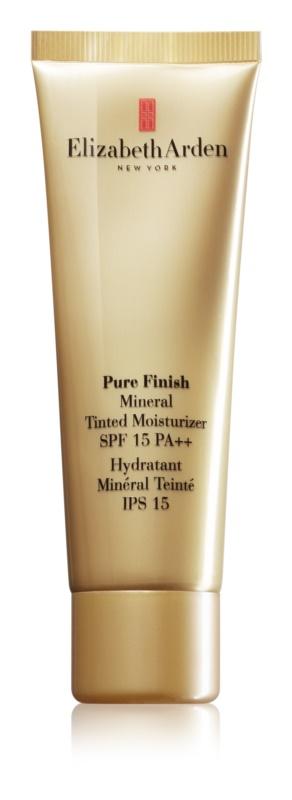 Elizabeth Arden Pure Finish Mineral Tinted Moisturizer crema tonifianta SPF 15