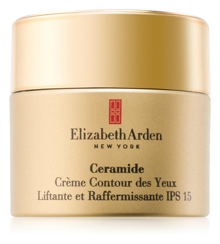 Elizabeth Arden Ceramide Plump Perfect Ultra Lift and Firm Eye Cream oční liftingový krém SPF 15