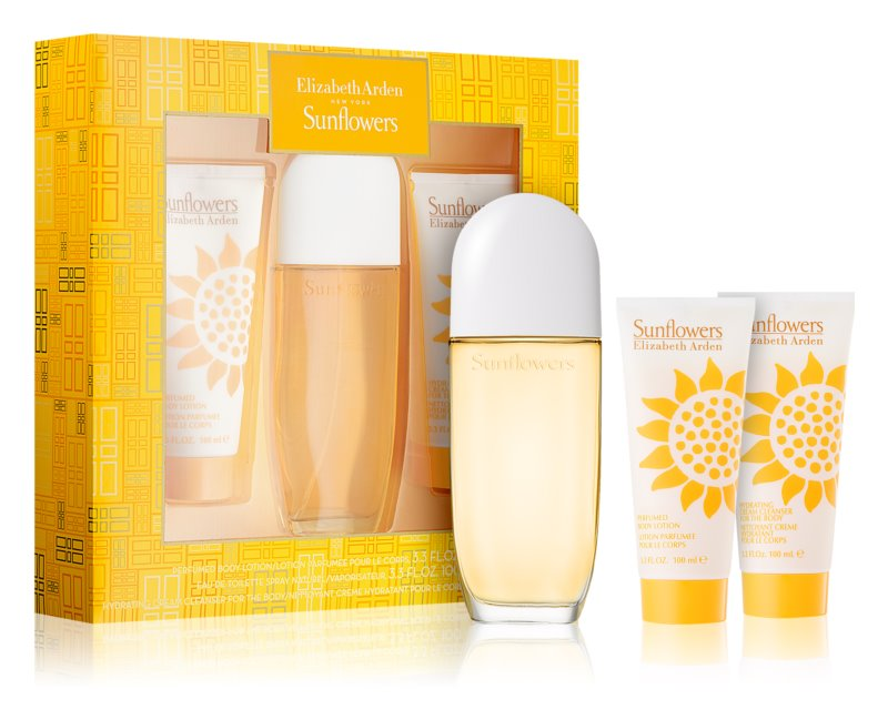 Elizabeth Arden Sunflowers Gift Set I.