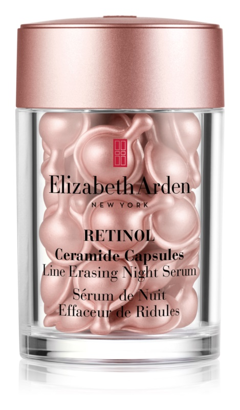 Elizabeth Arden Ceramide Retinol nočné pleťové sérum v kapsuliach