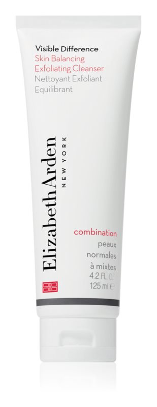 Elizabeth Arden Visible Difference Skin Balancing Exfoliating Cleanser gommage moussant pour peaux normales à mixtes