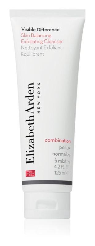Elizabeth Arden Visible Difference Skin Balancing Exfoliating Cleanser penast piling za normalno do mešano kožo